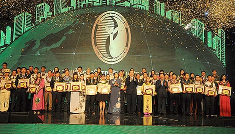 VTV giành 2 giải thưởng Môi trường Việt Nam 2017