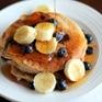 Chẳng cần tới bột mì, bạn vẫn có được món pancake nóng hổi