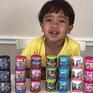 Cậu bé 6 tuổi kiếm 15 triệu USD một năm nhờ các video đánh giá đồ chơi