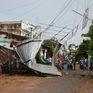 Đồng Tháp: Hỗ trợ người dân bị sập nhà do dông lốc