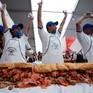 Mexico xác lập kỷ lục chiếc bánh torta dài 67m
