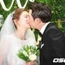 Tài tử Joo Sang Wook hôn vợ say đắm trong lễ cưới