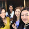 Đỗ Mỹ Linh nổi bật giữa dàn người đẹp Hoa hậu Thế giới 2017