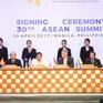 Các nhà lãnh đạo ASEAN gặp đại diện AIPA và thanh niên ASEAN