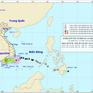 Áp thấp nhiệt đới dự báo đi vào đất liền từ Bình Thuận đến Trà Vinh