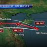Bão số 4 tăng tốc độ, hướng thẳng vào đất liền khu vực Bắc miền Trung