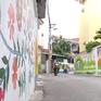 Ngỡ ngàng vẻ đẹp của đường làng bích họa