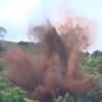 Quảng Trị: Hủy nổ thành công bom từ trường nặng 230kg