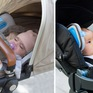 Xe đẩy em bé có thiết bị lọc sạch không khí sắp ra mắt
