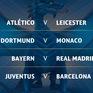 Tứ kết Champions League: Bayern Munich gặp Real Madrid, Juventus chạm trán Barcelona