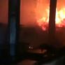 Cháy xưởng gỗ tại Đồng Nai, thiệt hại hàng chục tỷ đồng