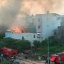 TP.HCM: Cháy nhà có thể do sang chiết gas, khu phố hoảng loạn