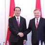 Chủ tịch nước Trần Đại Quang hội kiến Thủ tướng Belarus Kobyakov