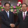 Chủ tịch nước Trần Đại Quang tiếp Tổng Giám đốc Tân Hoa xã
