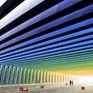 Trải nghiệm lái xe qua đường hầm sắc màu tại Trung Quốc