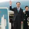 Chủ tịch nước Trần Đại Quang và Phu nhân bắt đầu chuyến thăm Belarus