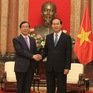 Chủ tịch nước tiếp Đặc phái viên Tổng thống Hàn Quốc