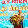 Kỷ niệm 25 năm tái lập tỉnh Sóc Trăng