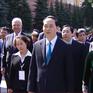 Chủ tịch nước dâng hoa Tượng đài Chủ tịch Hồ Chí Minh tại Liên bang Nga