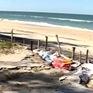 Thừa Thiên-Huế: Bờ biển sạt lở nghiêm trọng sau bão số 10