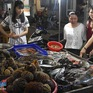 Sôi động chợ đêm hải sản ở đảo Lý Sơn