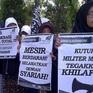 Indonesia cấm tổ chức Hồi giáo Hizbut Tahrir hoạt động