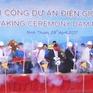 Ninh Thuận khởi công dự án điện gió Đầm Nại