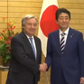 Tổng Thư ký LHQ thăm Nhật Bản thảo luận vấn đề Triều Tiên