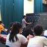 Lớp luyện thi miễn phí cho học sinh thôn Lại Đà
