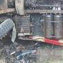 Ô tô tải va chạm xe máy, 2 người tử vong tại chỗ