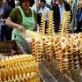 Mê mệt với món khoai tây lốc xoáy xứ Hàn