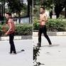 """Du khách nước ngoài """"ngáo đá"""" đập phá nhà dân ở Nha Trang"""