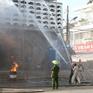 Cần Thơ diễn tập chữa cháy trung tâm thương mại