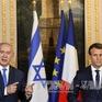 Pháp và Israel tìm lối thoát cho tiến trình hòa bình Trung Đông