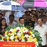 Tri ân các anh hùng liệt sỹ tại khu Di tích Liên quân Lào - Việt