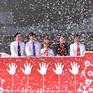 Hơn 200 học sinh Hà Nội đồng diễn hưởng ứng ngày Thế giới rửa tay với xà phòng 2017