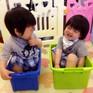 Ngắm cặp sinh đôi cực dễ thương của Lâm Chí Dĩnh