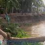 Sạt lở tiếp tục ăn sâu vào bờ sông Hậu, Vĩnh Long