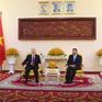 Tổng Bí thư hội kiến Chủ tịch Thượng viện Campuchia