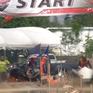 Độc đáo cuộc thi lái máy cày tại Thái Lan
