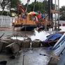 TP.HCM: Thi công metro làm vỡ ống cấp nước sinh hoạt