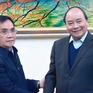 Thủ tướng tiếp nguyên Thủ tướng Lào