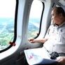Thủ tướng thị sát ảnh hưởng biến đổi khí hậu tại Đồng bằng sông Cửu Long