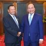 Thủ tướng hội kiến Chủ tịch Thượng viện Campuchia