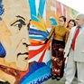 Khánh thành đoạn tranh gốm của họa sĩ Chile tại Hà Nội
