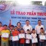 Trao thưởng cho học sinh sinh viên xuất sắc tại Hải Phòng