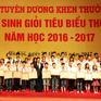 Hà Nội tuyên dương 1.020 học sinh giỏi tiêu biểu Thủ đô