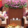 Chủ tịch Quốc hội tiếp Tổng Chưởng lý Cộng hòa Mozambique