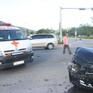 Đà Nẵng: Xe cấp cứu gặp tai nạn, y tá văng khỏi xe