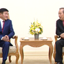 Phó Thủ tướng Trương Hòa Bình tiếp Bộ trưởng Tư pháp và Nội vụ Mông Cổ